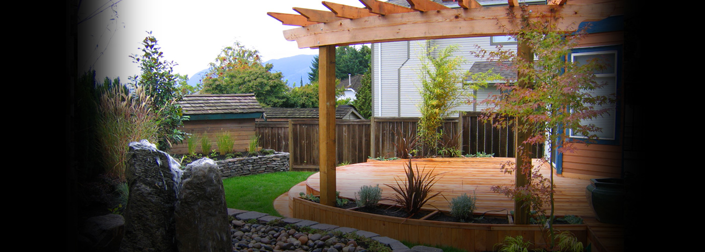 Decks, Arbors & Fences From simple to the most elaborate designs, all of our woodwork is built sturdy and designed to last.